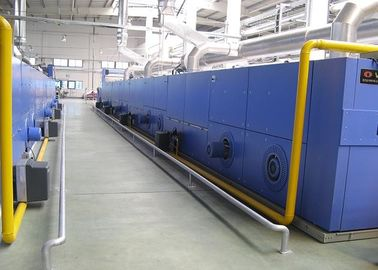 Good Insulation Textile Finishing Machine Open Width Entry / Horizontal Rail