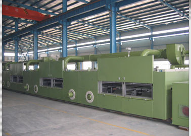 Environment Friendly Fabric Stenter Machine , Heat Setting Stenter Textile Machine